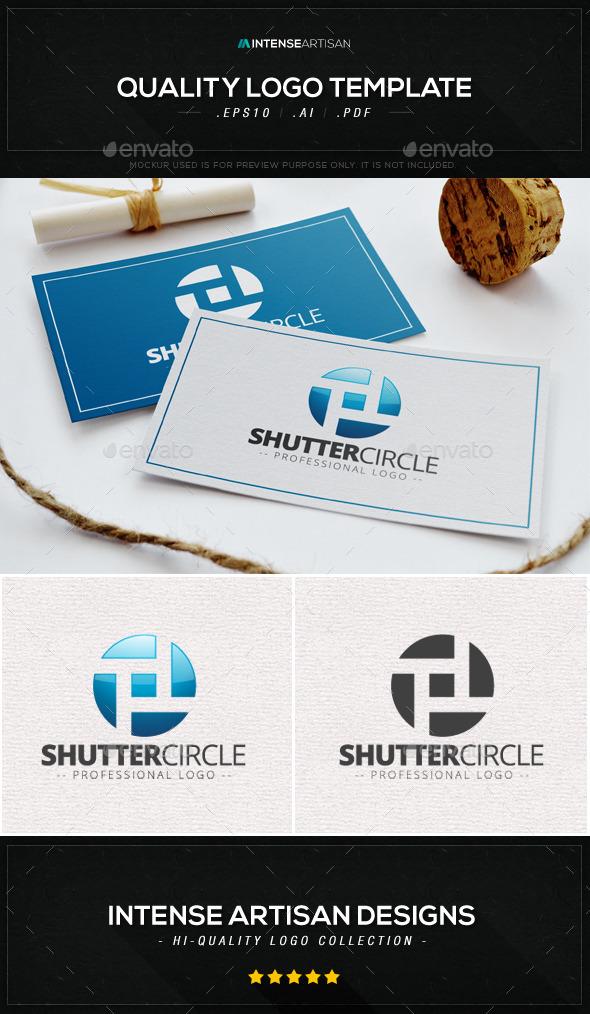 Shutter Circle Logo Template - Objects Logo Templates