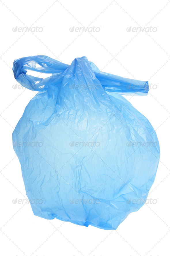 Plastic Shopping Bag - Stock Photo - Images