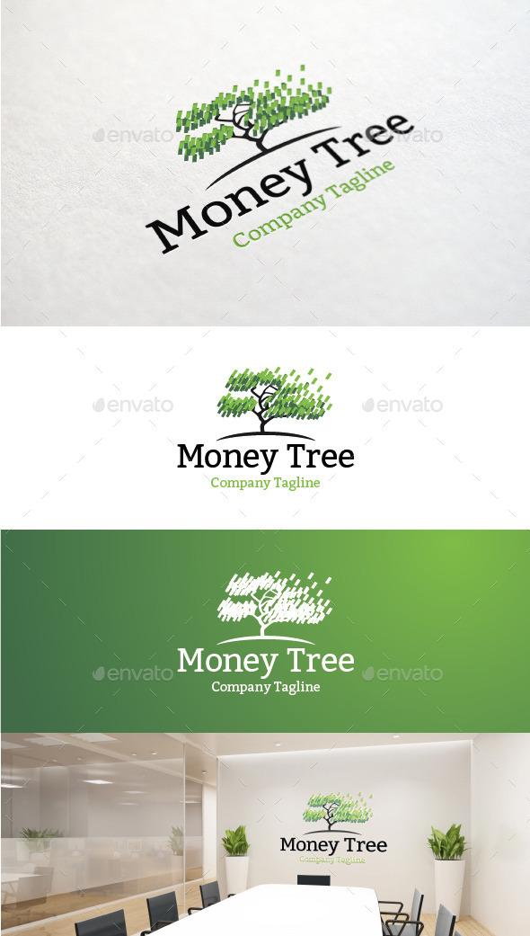 Money Tree - Nature Logo Templates