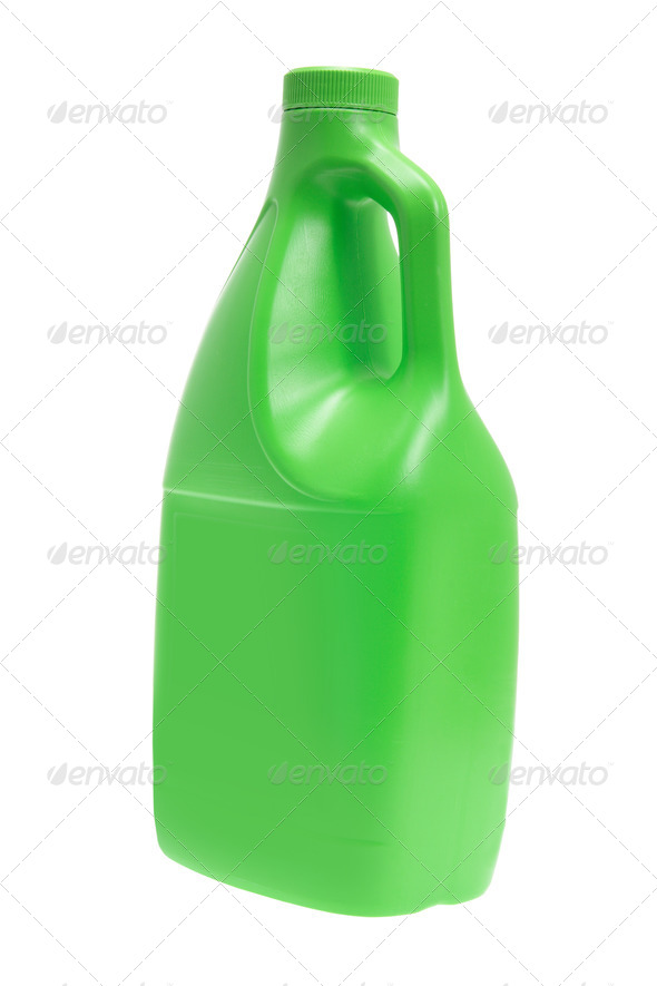 Detergent Bottle - Stock Photo - Images