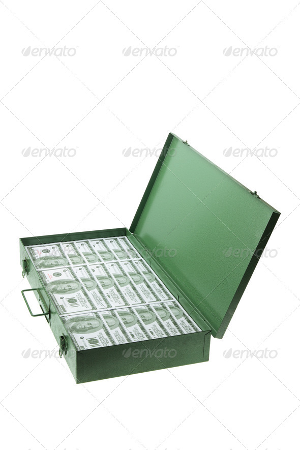 Case of Banknotes - Stock Photo - Images