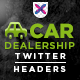 Twitter Header for Car Sales - GraphicRiver Item for Sale