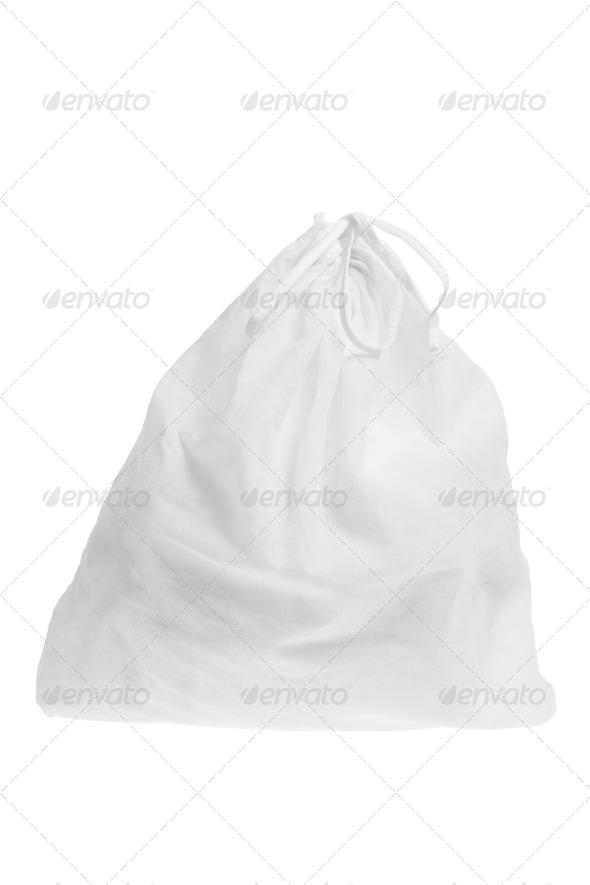 Laundry Bag - Stock Photo - Images