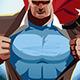 Superhero Businessman - GraphicRiver Item for Sale