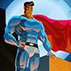 Superhero in City - GraphicRiver Item for Sale