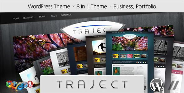 Free Download Traject - WordPress Portfolio and Business Theme Nulled Latest Version