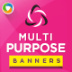 Multi Purpose Marketing Banner Set - GraphicRiver Item for Sale