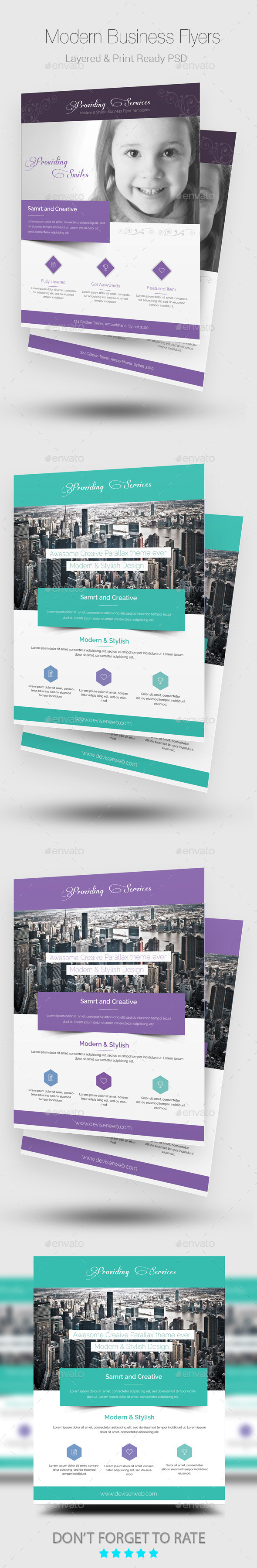 Elegant Business Flyer Templates - Corporate Flyers