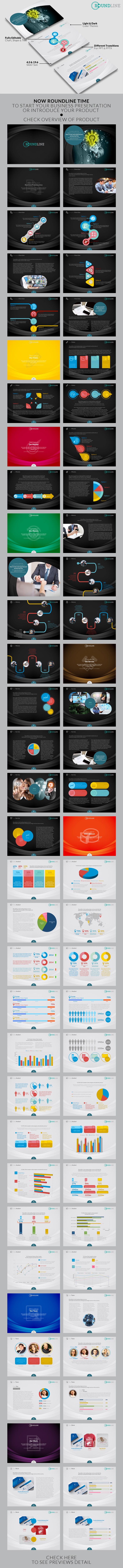 Roundline Powerpoint Template - PowerPoint Templates Presentation Templates