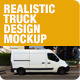 Realistic Truck Design Mockups - GraphicRiver Item for Sale