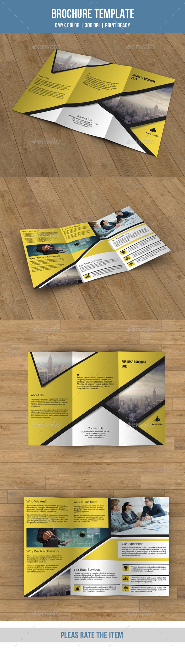 Trifold Business Brochure-V70 - Corporate Brochures