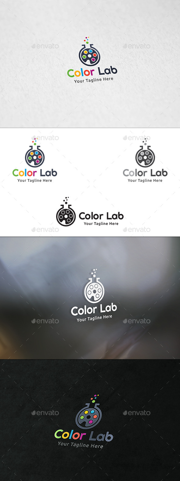 Color Lab - Logo Template - Symbols Logo Templates