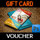 Travel Gift Voucher Card Template Vol.13 - GraphicRiver Item for Sale