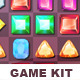 Match 3 Game Kit - Gems - GraphicRiver Item for Sale