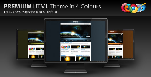 Free Download PREMIUM - HTML Business, Blog, Magazine Site Nulled Latest Version