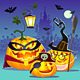 Halloween Happy Family of Pumpkins - GraphicRiver Item for Sale