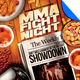 MMA Fight Night Headliner Flyer Template