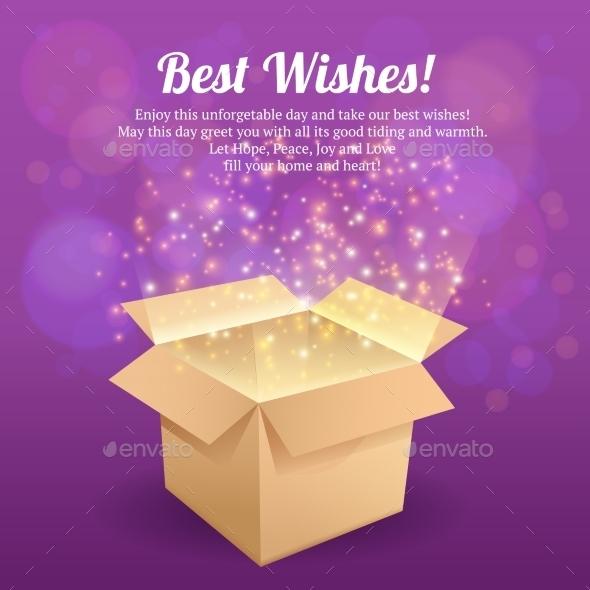 Open Box Postcard - Miscellaneous Seasons/Holidays