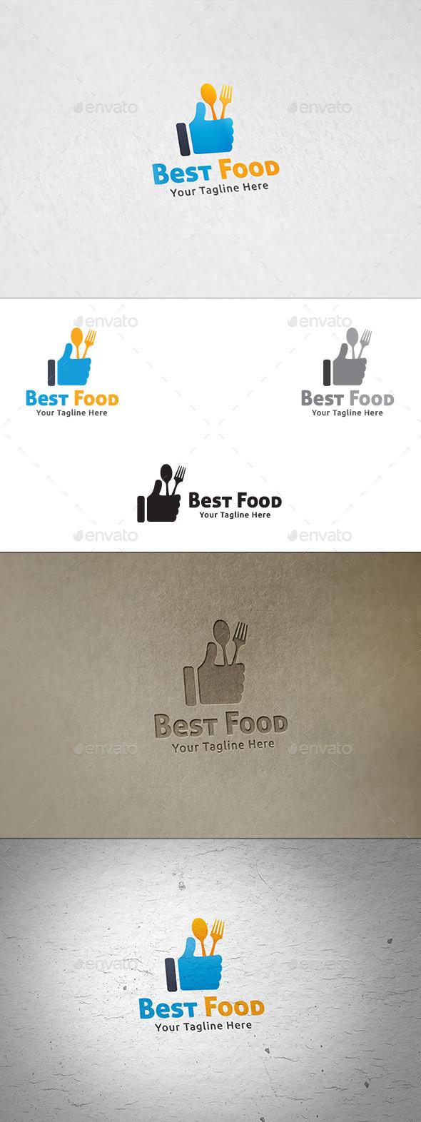 Best Food - Logo Template - Symbols Logo Templates