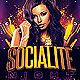 Socialite Night Flyer Template