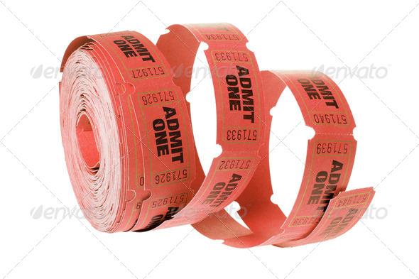 Cinema Tickets - Stock Photo - Images