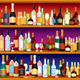 Seamless Bar Shelves - GraphicRiver Item for Sale