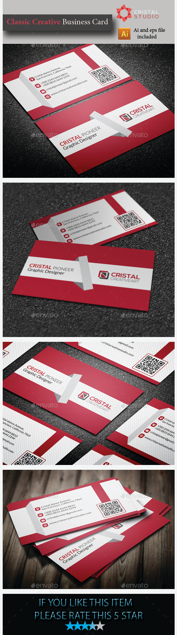 Classic Creative Business Card - Creative Business Cards