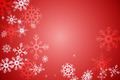 Digitally generated Red snow flake pattern design - PhotoDune Item for Sale