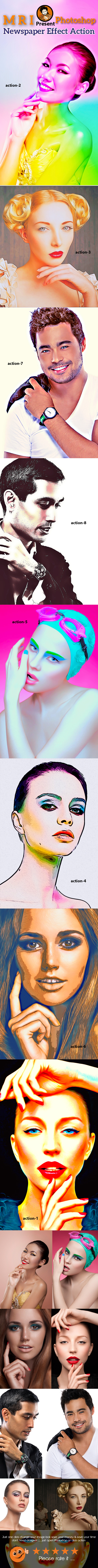 Digital Art VL-2 - Actions Photoshop