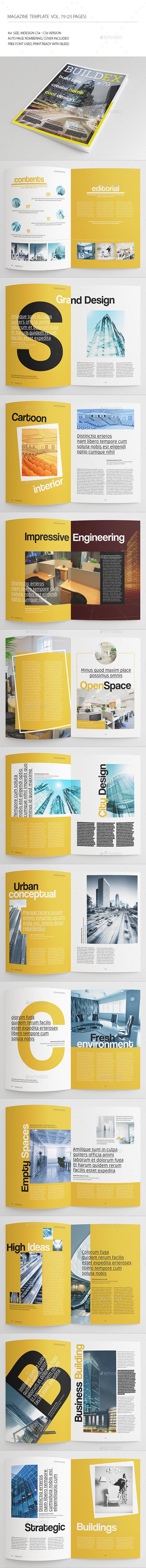 25 Pages Architect Magazine Vol79 - Magazines Print Templates