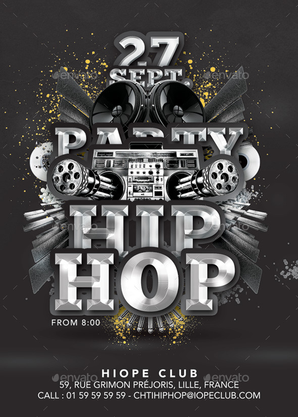 Hip Hop Special Party In Club - Clubs & Parties Events