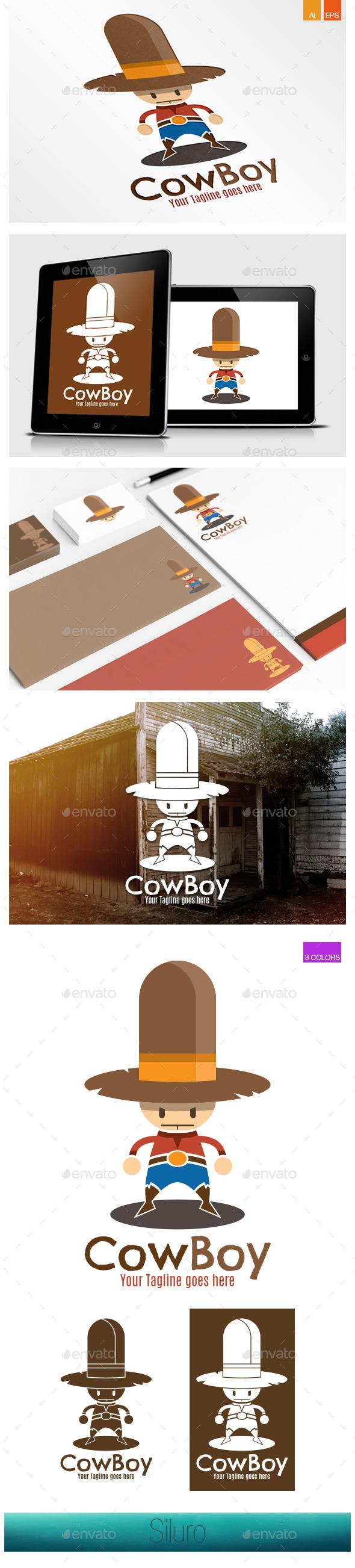 CowBoy Logo - Humans Logo Templates