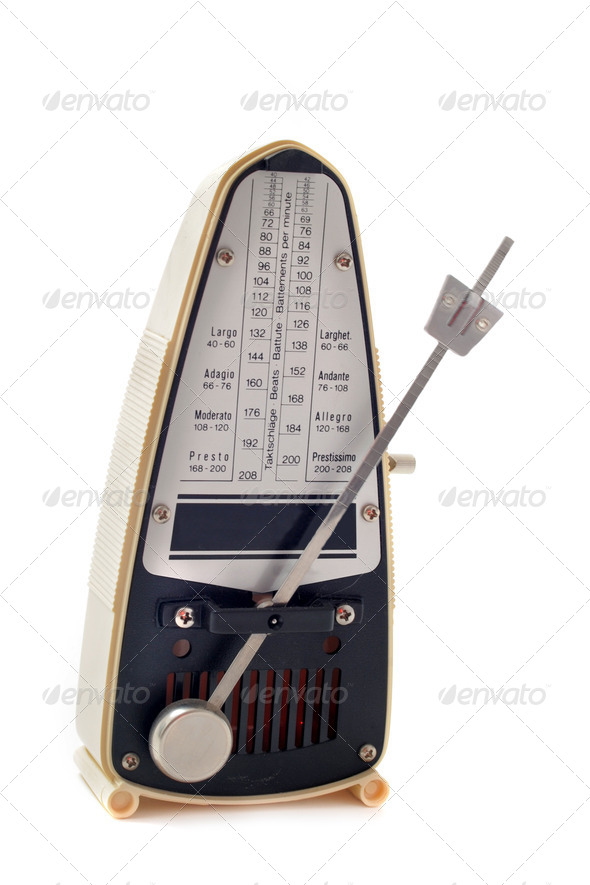 metronome - Stock Photo - Images
