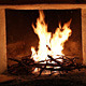 Burning Fire In Fireplace - VideoHive Item for Sale