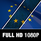 Europe Flag Motion Loop - VideoHive Item for Sale