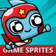 Scrolling Shooter Game Sprites - GraphicRiver Item for Sale