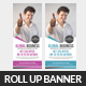 Corporate Business Rollup Banner Psd Template