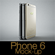 Phone 6 Photorealistic Mock-up - GraphicRiver Item for Sale