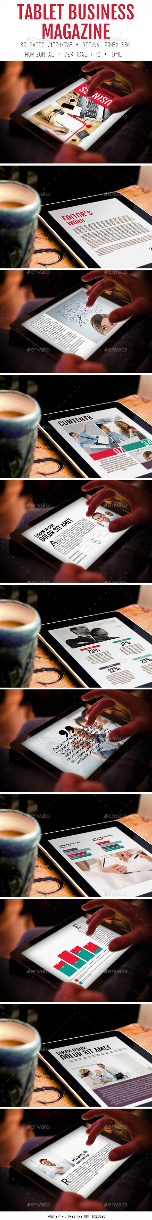 iPad &Tablet Business Magazine - Digital Magazines ePublishing