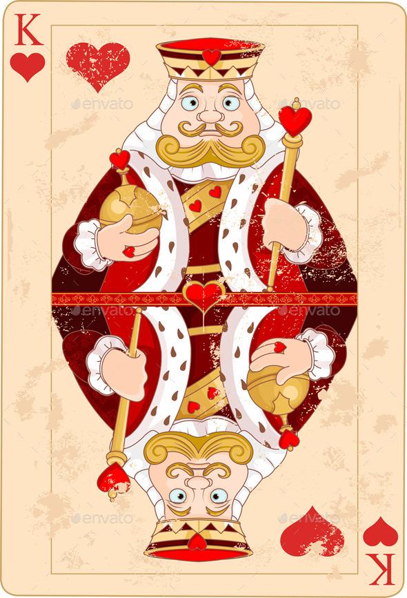King of Hearts - Decorative Symbols Decorative
