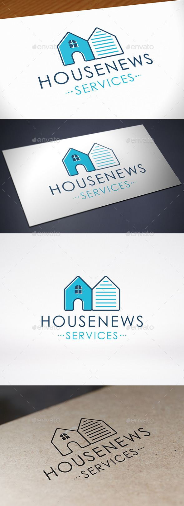 House News Logo Template - Buildings Logo Templates