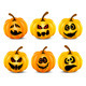 Isolated Pumpkins - GraphicRiver Item for Sale