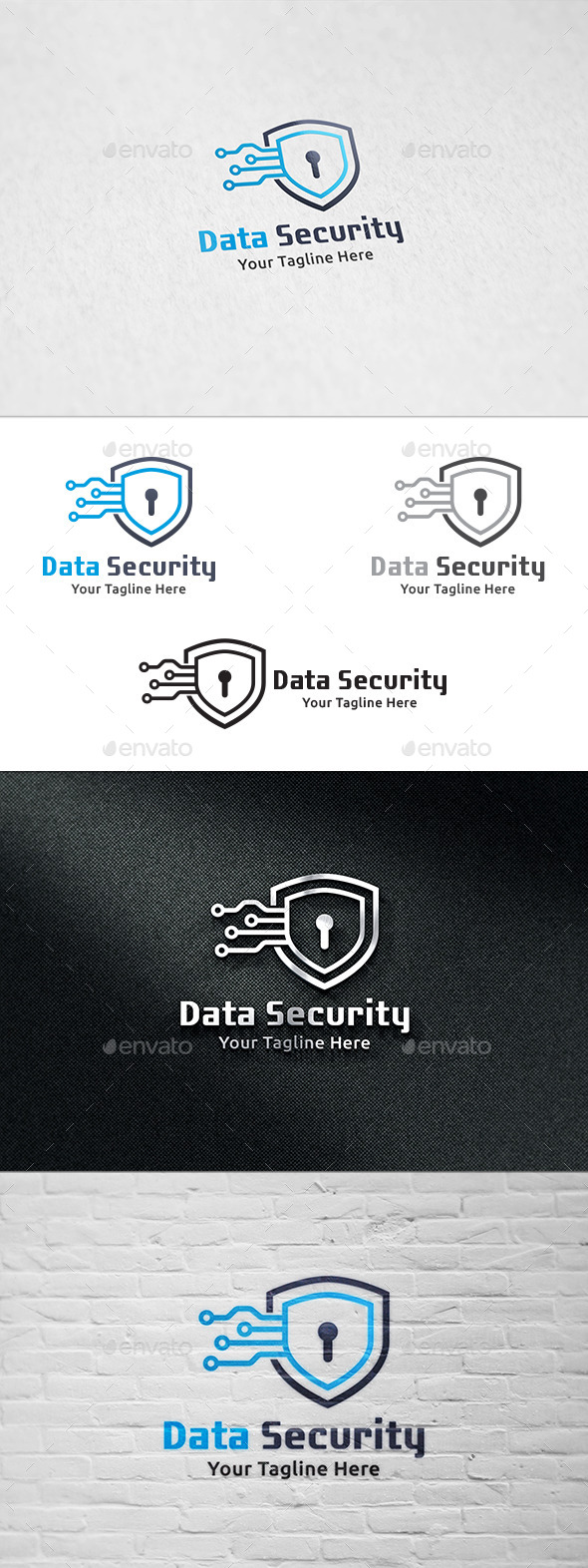 Data Security - Logo Template - Symbols Logo Templates
