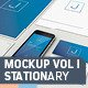 Stationary - Mockup Vol 1 - GraphicRiver Item for Sale