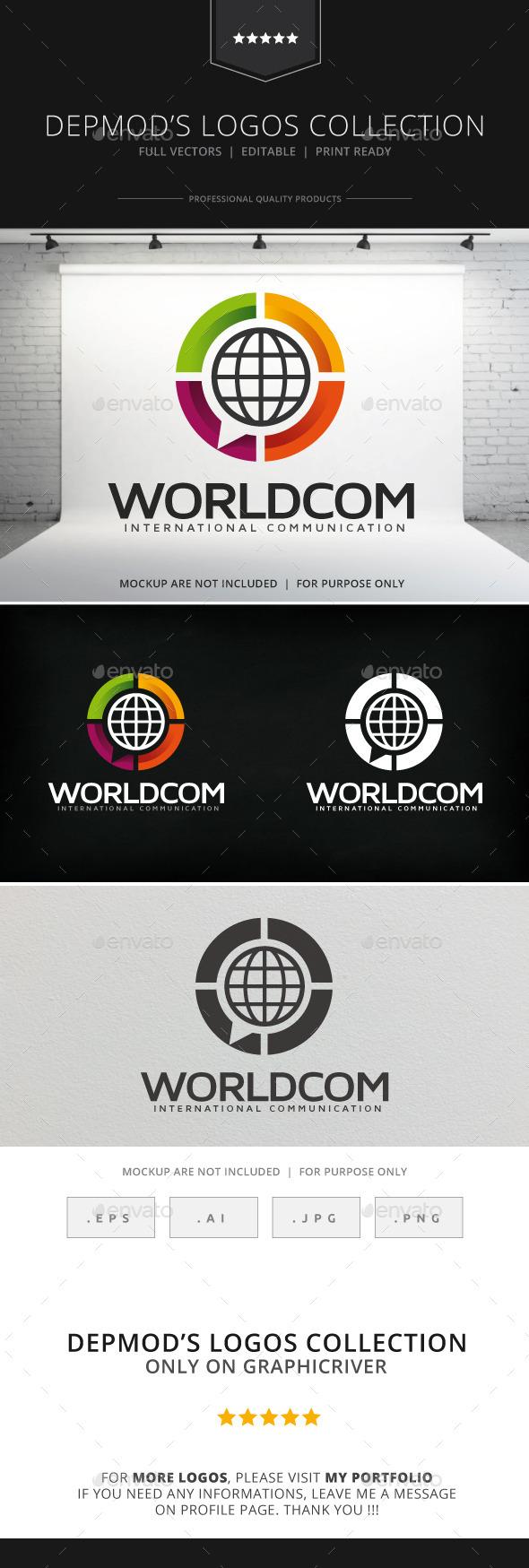Worldcom Logo - Symbols Logo Templates