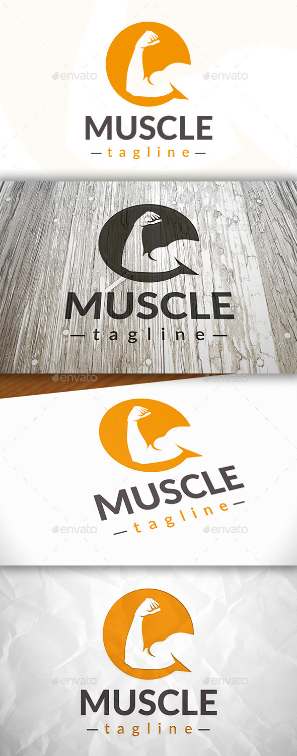 Fitness Chat Logo - Humans Logo Templates