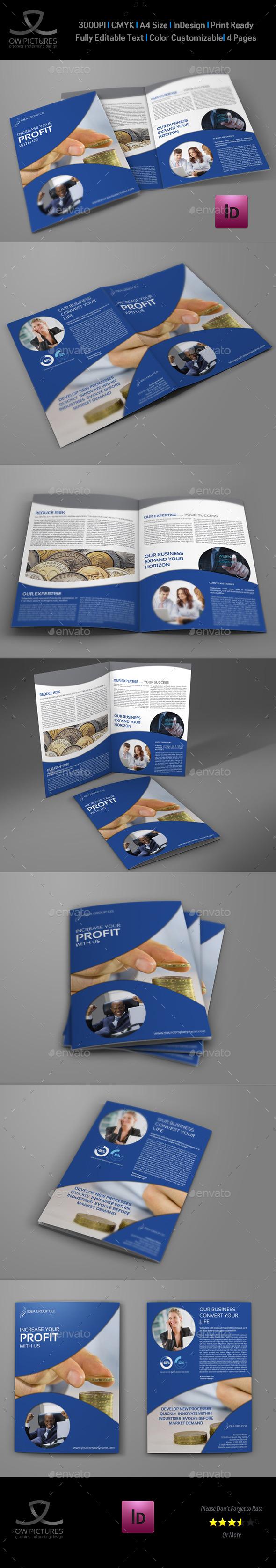 Company Brochure Bi-Fold Template Vol.30 - Corporate Brochures