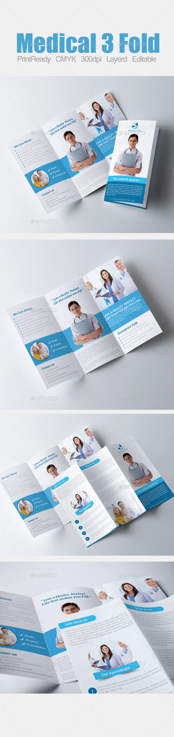 3 Fold Business Brochure - Corporate Brochures