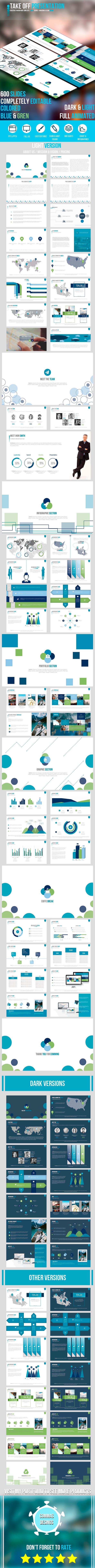 Take Off Presentation - PowerPoint Templates Presentation Templates