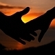 Holding Hands at Sunset - VideoHive Item for Sale